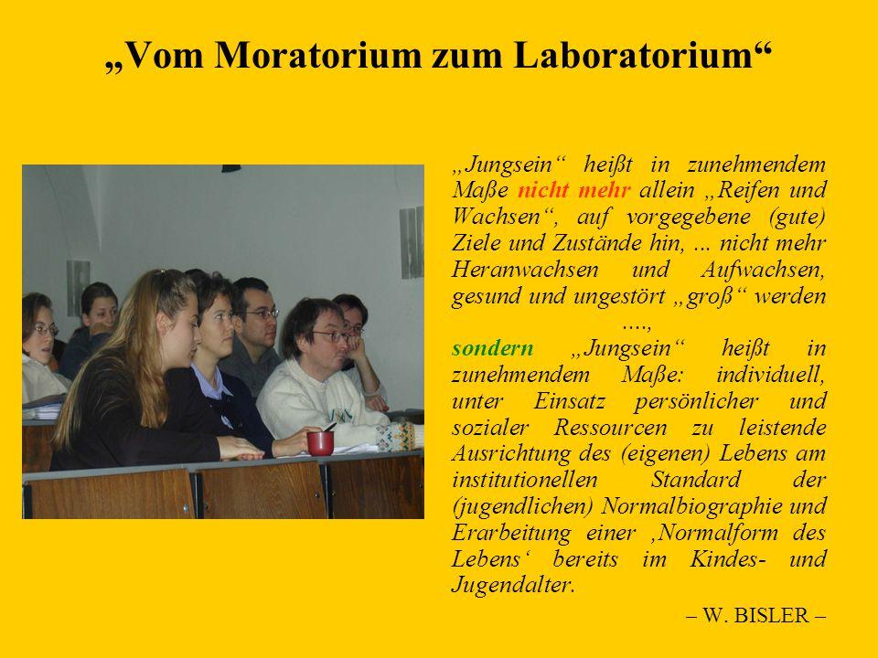 """""""Vom Moratorium zum Laboratorium"""