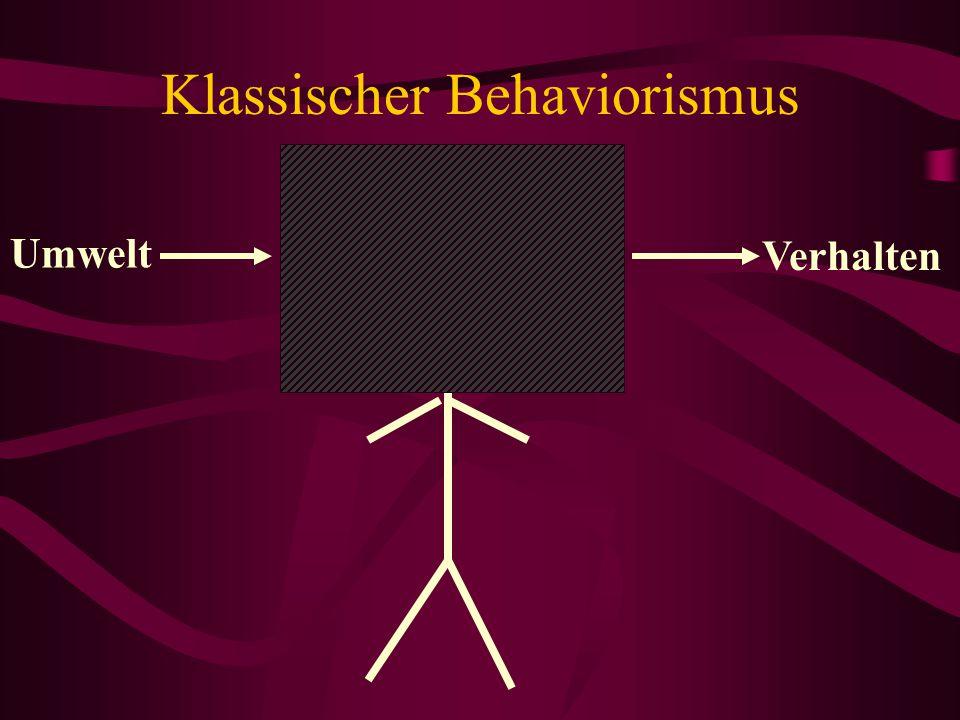 Klassischer Behaviorismus