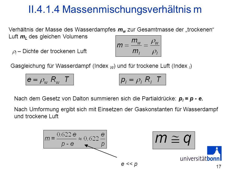 II.4.1.4 Massenmischungsverhältnis m