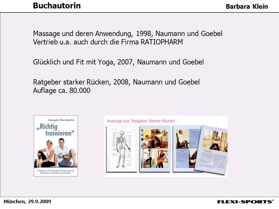 Buchautorin Massage und deren Anwendung, 1998, Naumann und Goebel Vertrieb u.a. auch durch die Firma RATIOPHARM.