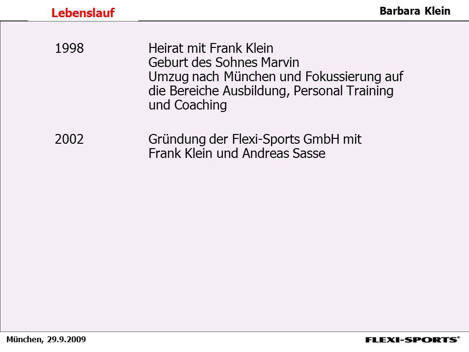 2002 Gründung der Flexi-Sports GmbH mit Frank Klein und Andreas Sasse