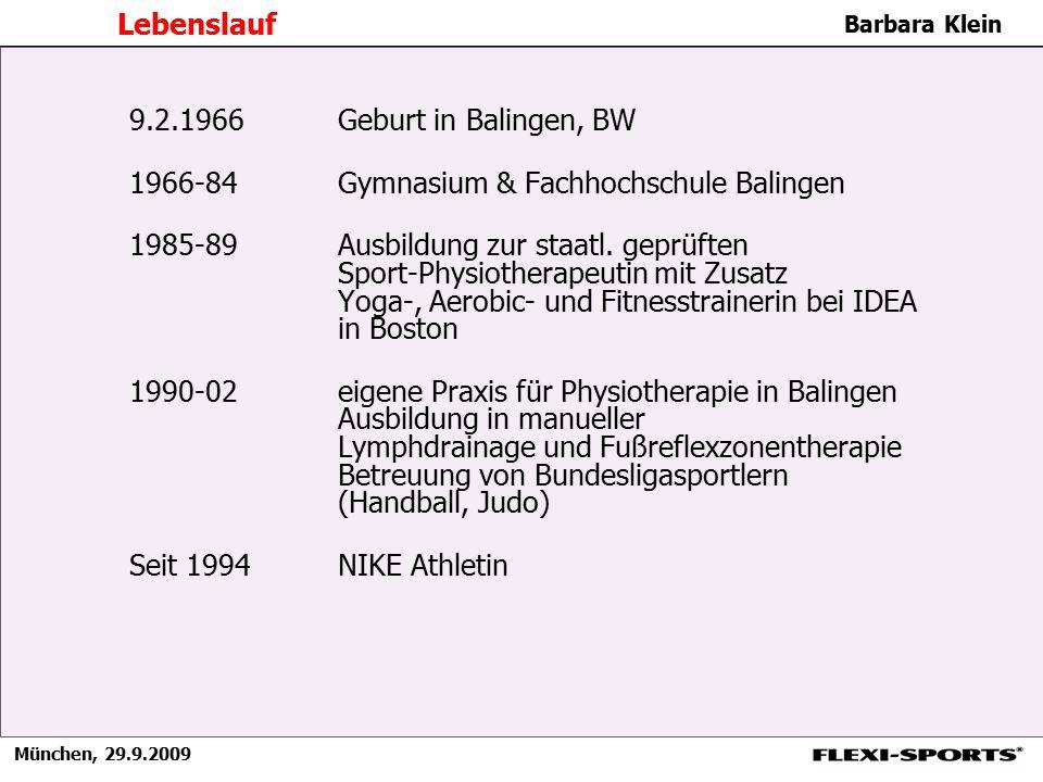Lebenslauf 9.2.1966 Geburt in Balingen, BW. 1966-84 Gymnasium & Fachhochschule Balingen.