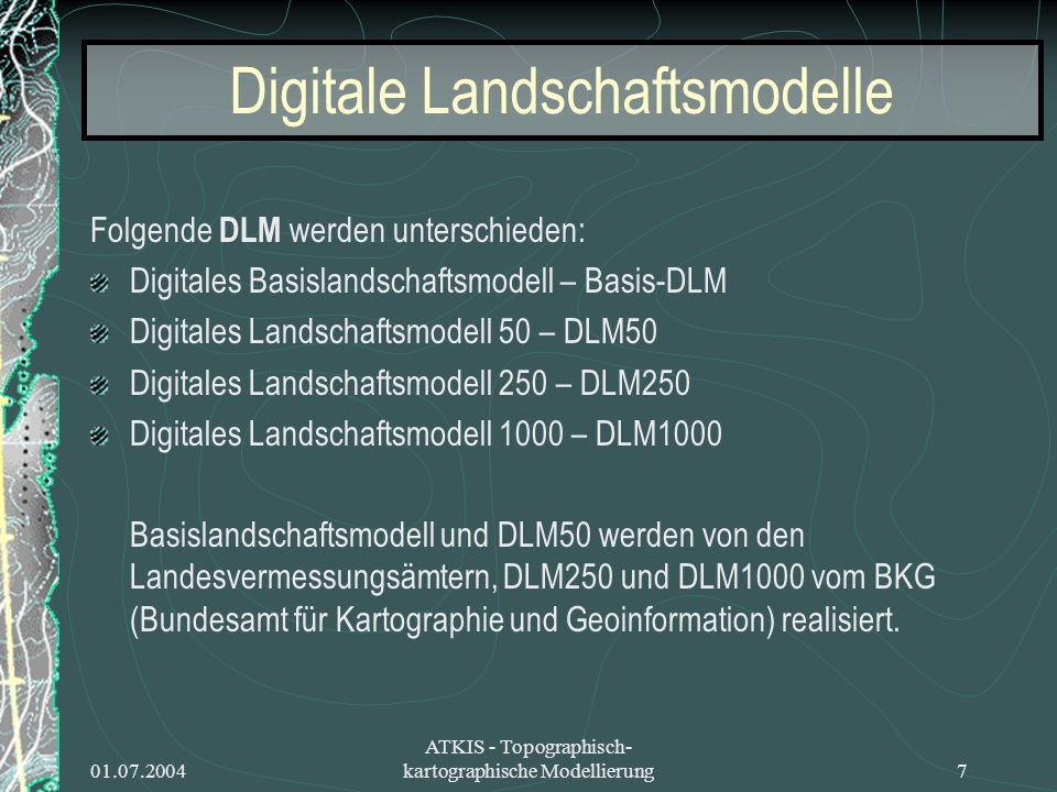 Digitale Landschaftsmodelle