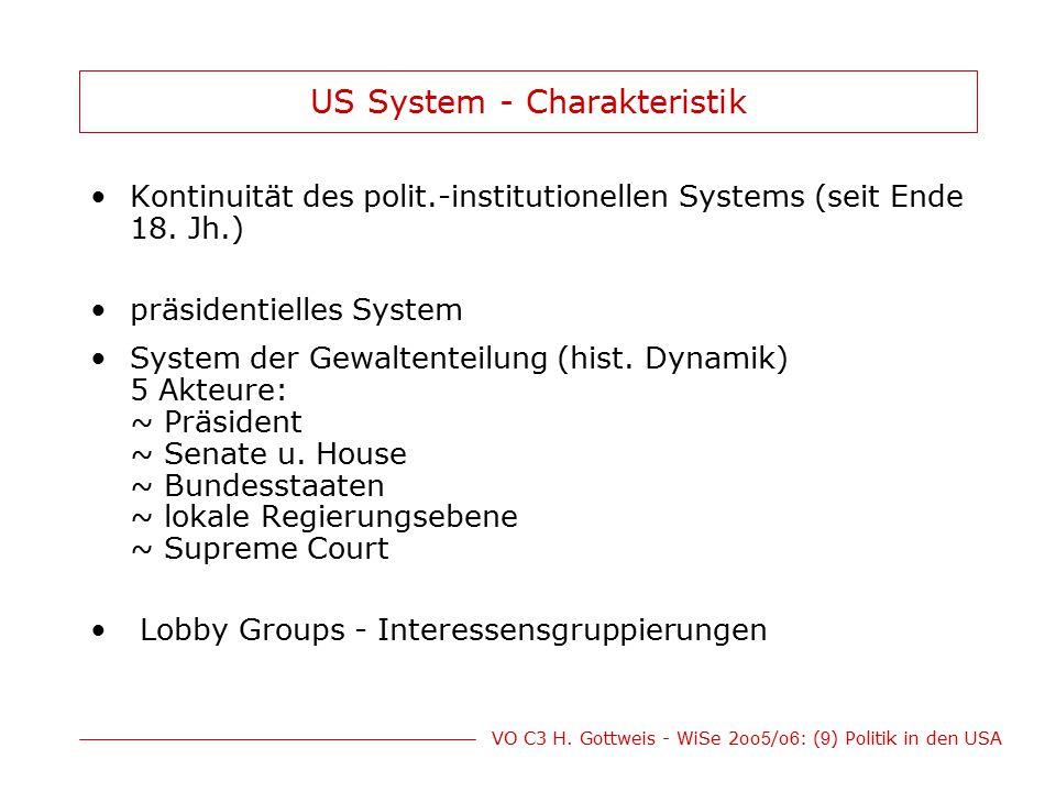 US System - Charakteristik