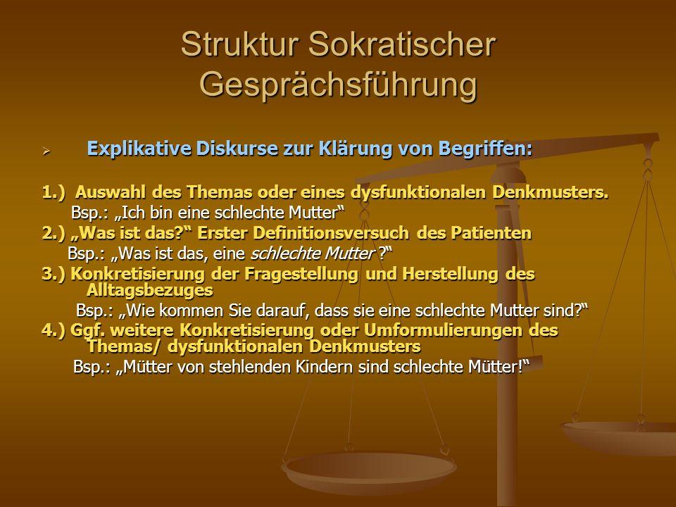Struktur Sokratischer Gesprächsführung