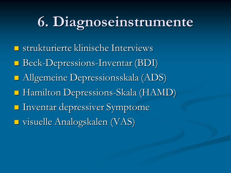 6. Diagnoseinstrumente strukturierte klinische Interviews