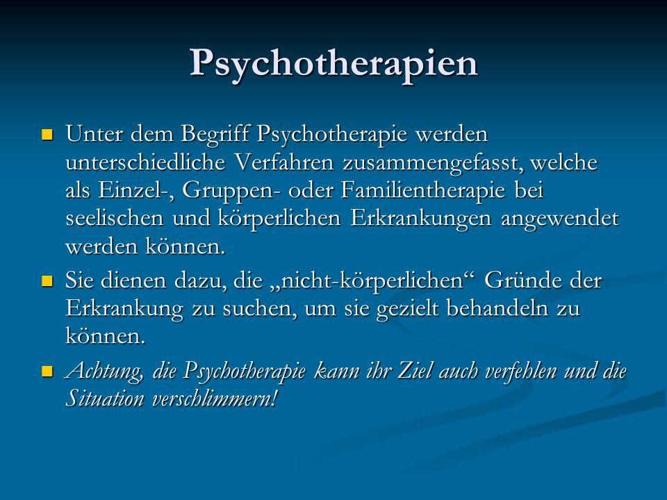 Psychotherapien