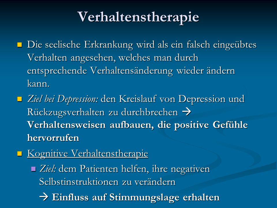 Verhaltenstherapie