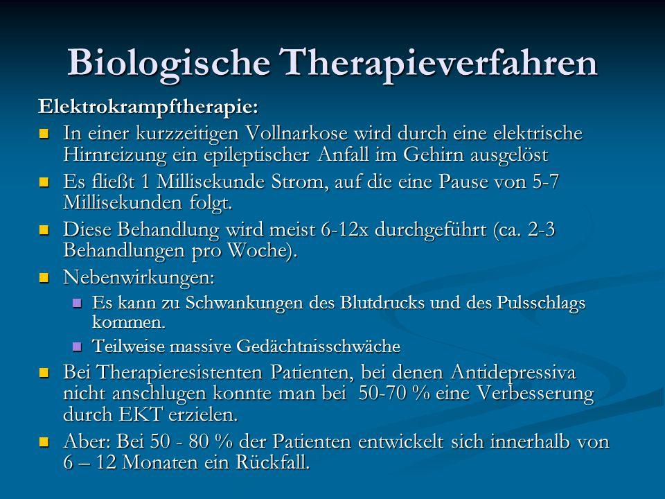 Biologische Therapieverfahren