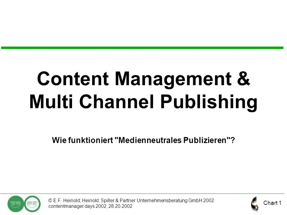 Content Management & Multi Channel Publishing