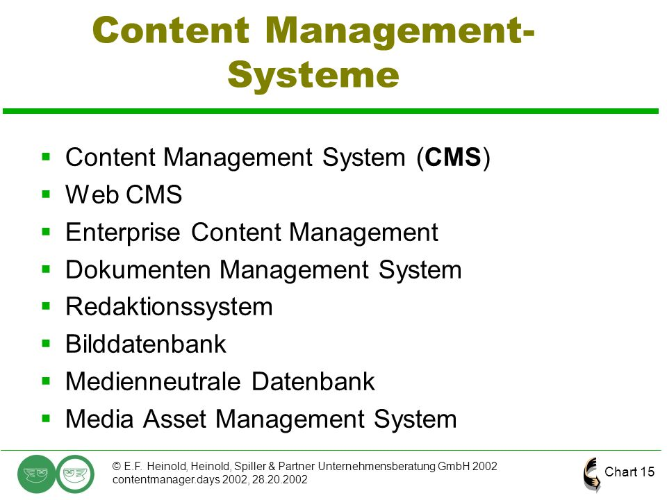 Content Management-Systeme