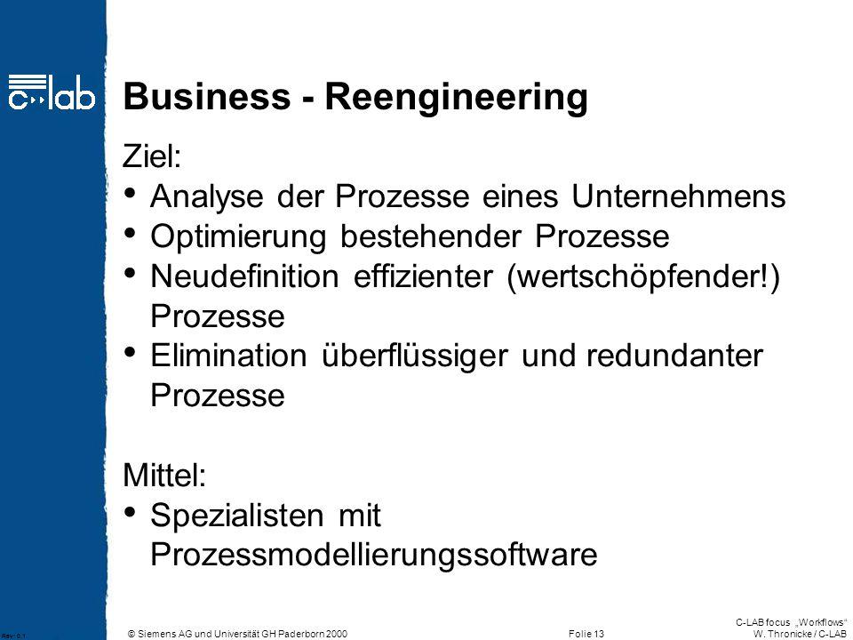 Business - Reengineering