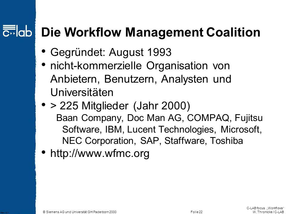 Die Workflow Management Coalition