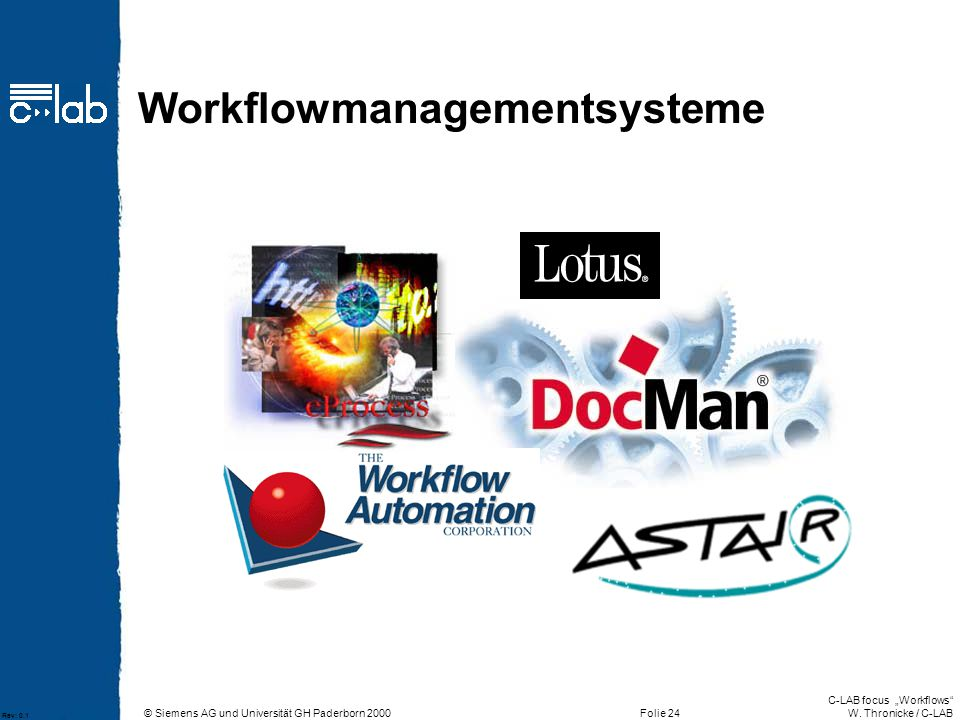 Workflowmanagementsysteme