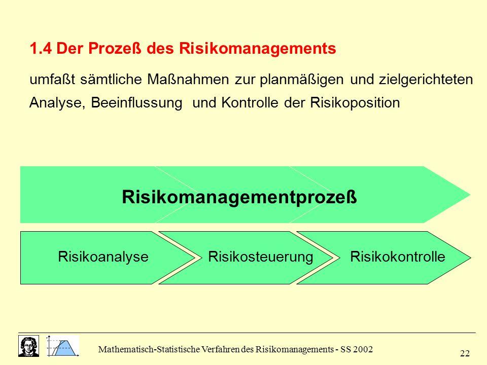 Risikomanagementprozeß