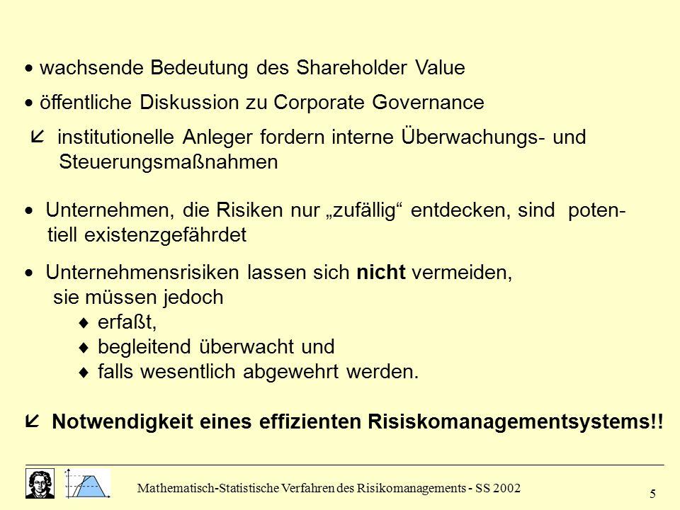  wachsende Bedeutung des Shareholder Value