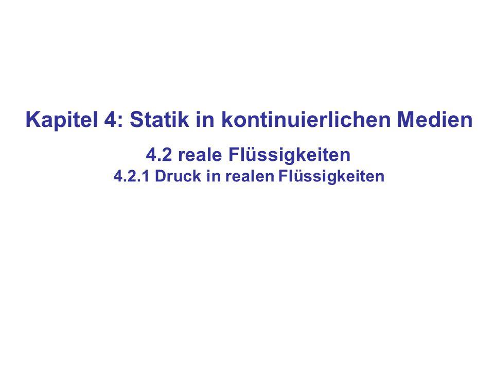 Kapitel 4: Statik in kontinuierlichen Medien