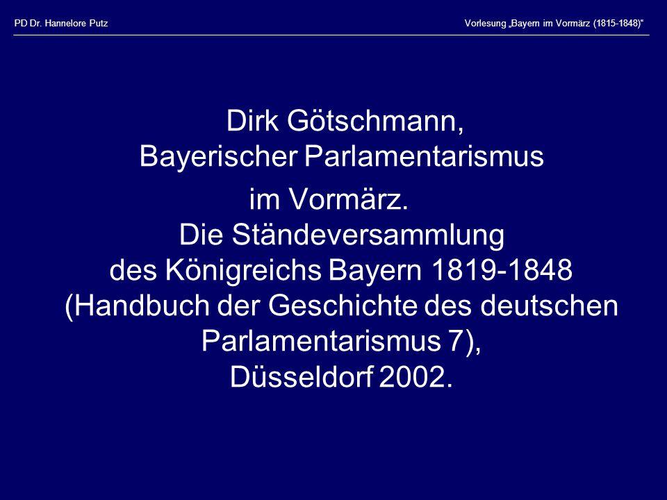Dirk Götschmann, Bayerischer Parlamentarismus