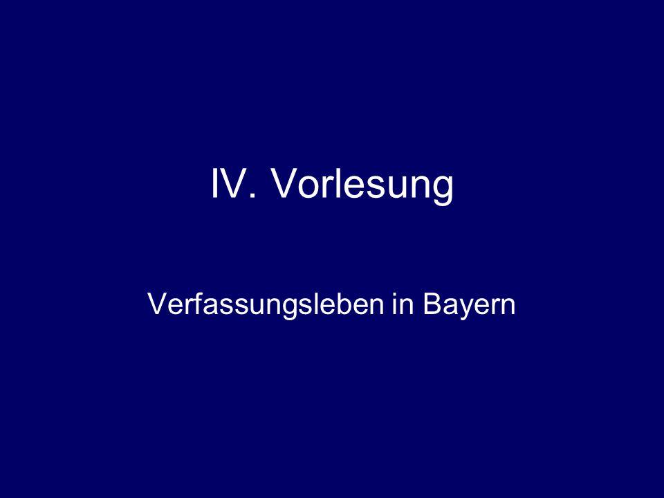 Verfassungsleben in Bayern
