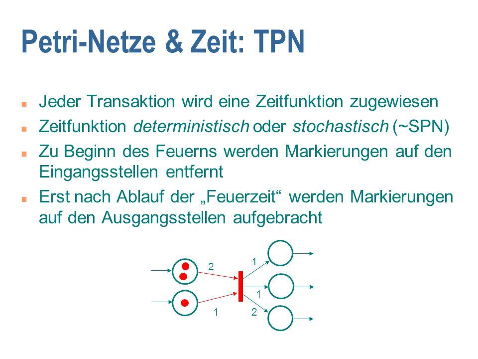 Petri-Netze & Zeit: TPN