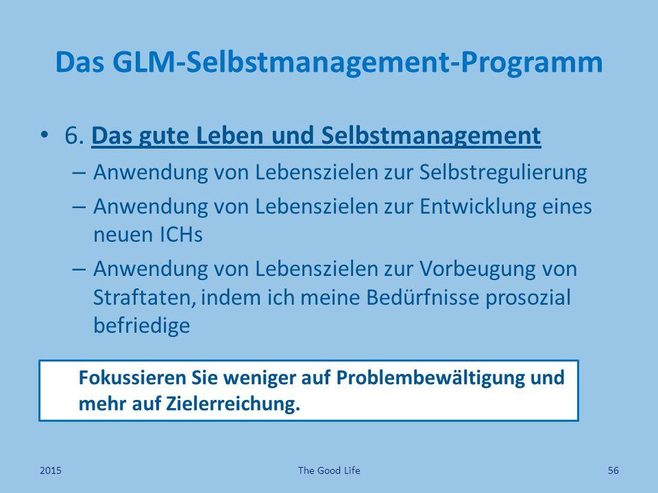 Das GLM-Selbstmanagement-Programm