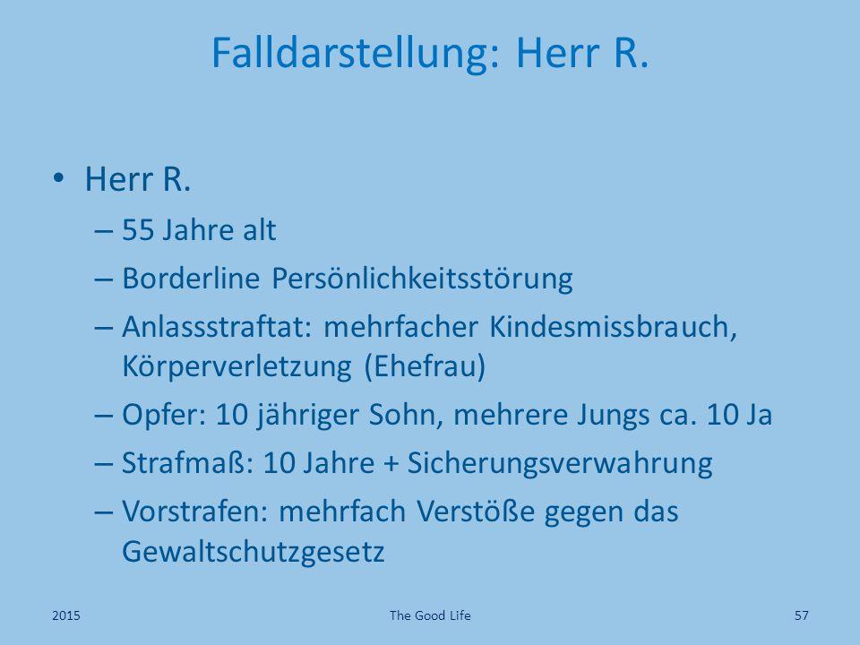 Falldarstellung: Herr R.