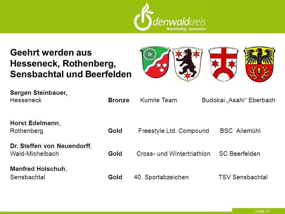 Hesseneck, Rothenberg, Sensbachtal und Beerfelden