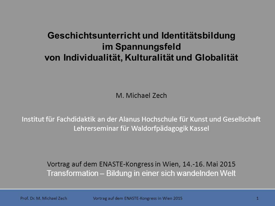 Geschichtsunterricht und Identitätsbildung
