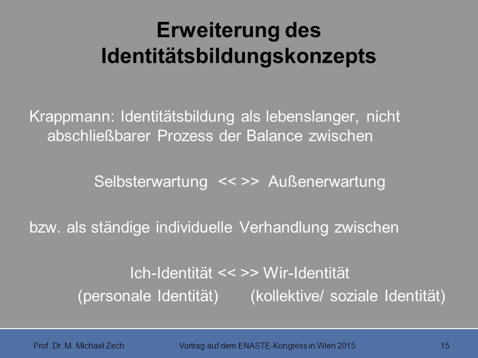 Erweiterung des Identitätsbildungskonzepts