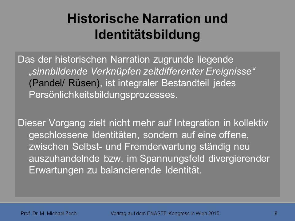 Historische Narration und Identitätsbildung