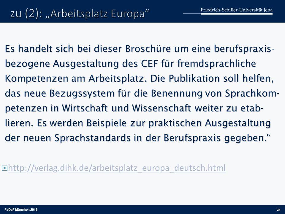 """zu (2): """"Arbeitsplatz Europa"""