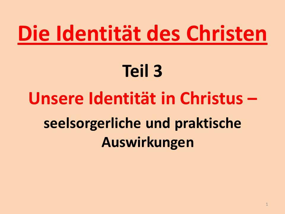 Die Identität des Christen