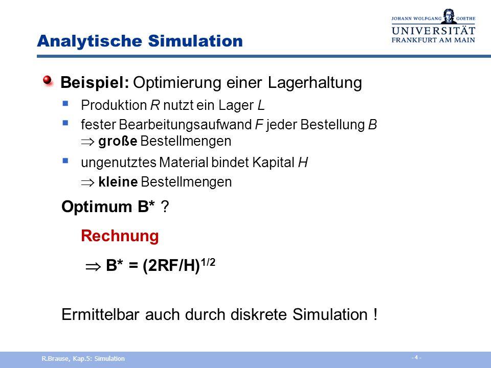 Analytische Simulation
