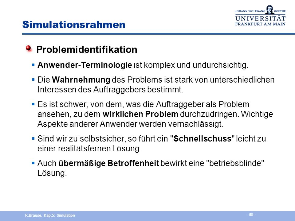Problemidentifikation