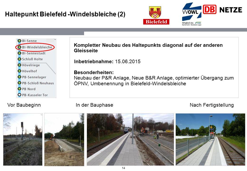 Haltepunkt Bielefeld -Windelsbleiche (2)