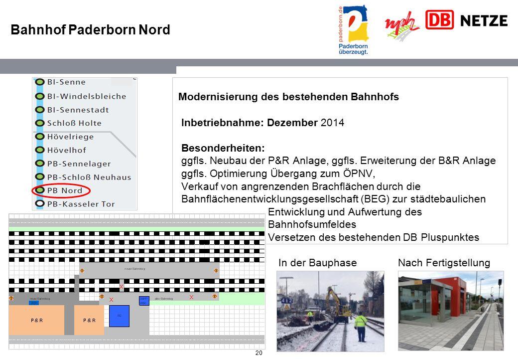 Bahnhof Paderborn Nord