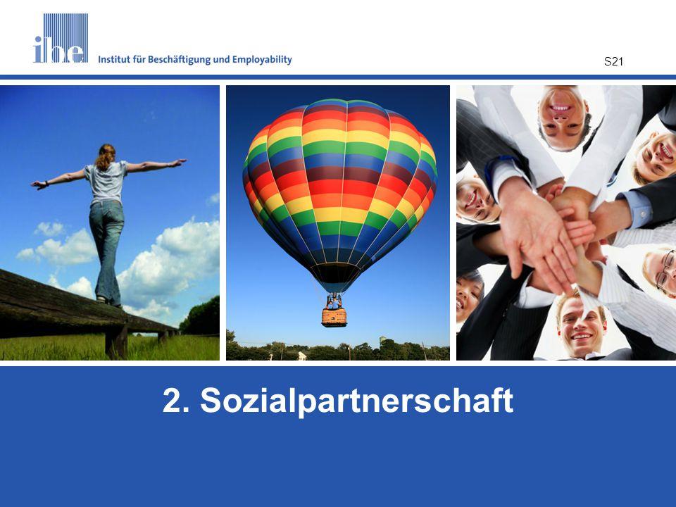 2. Sozialpartnerschaft