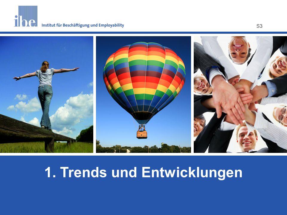 1. Trends und Entwicklungen
