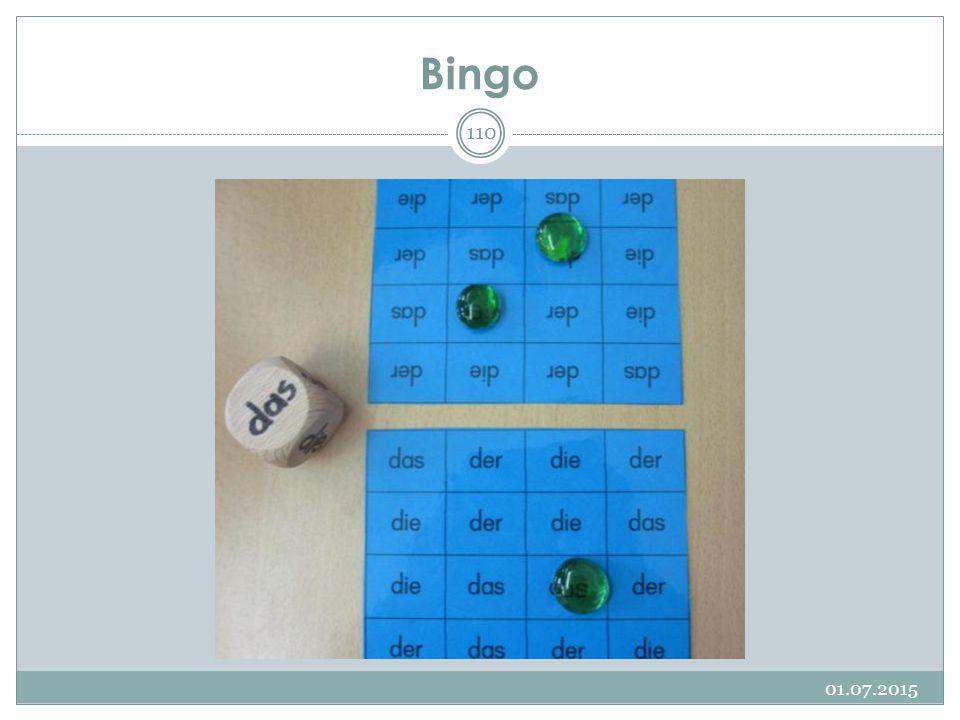 Bingo 17.04.2017
