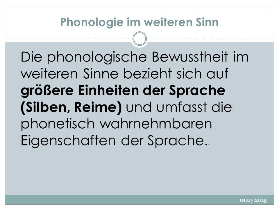 Phonologie im weiteren Sinn