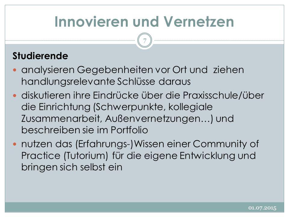 Innovieren und Vernetzen