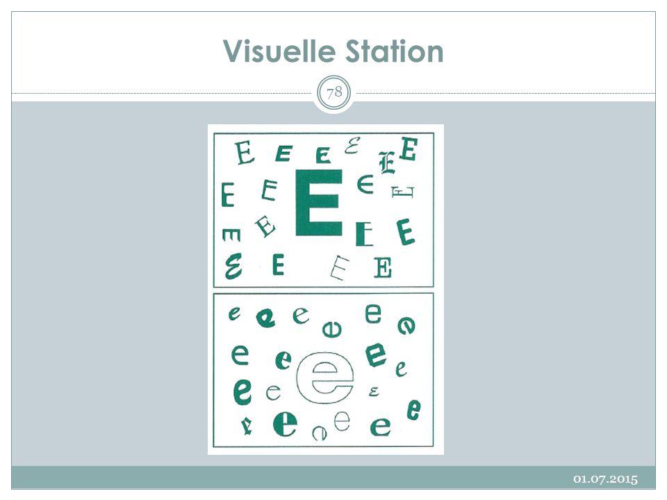 Visuelle Station 17.04.2017