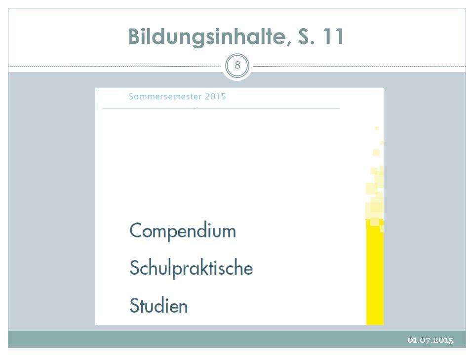 Bildungsinhalte, S. 11 17.04.2017