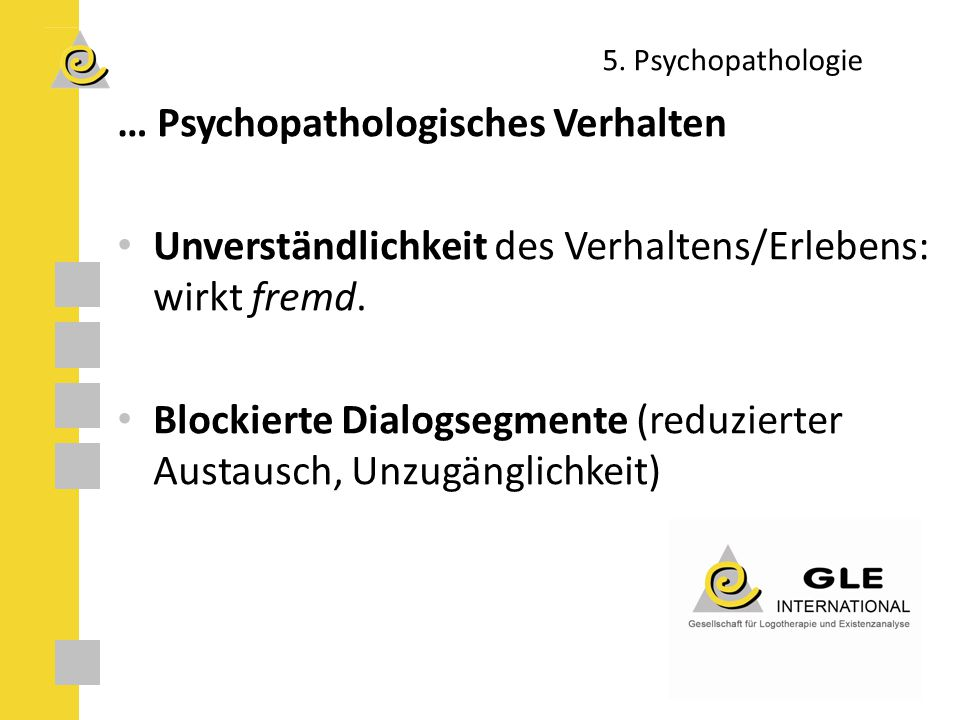 … Psychopathologisches Verhalten