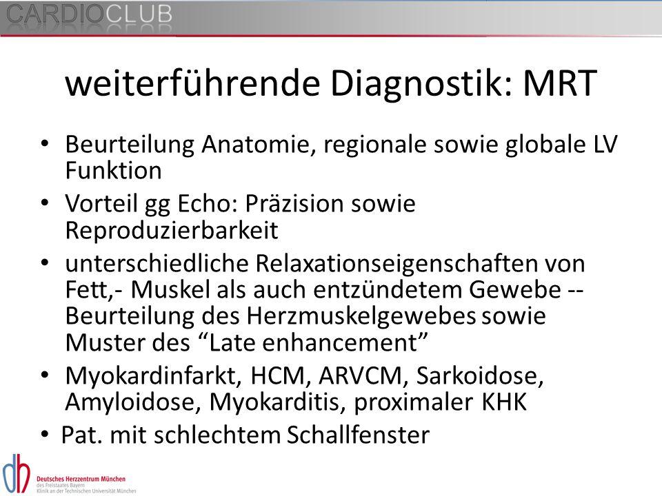 weiterführende Diagnostik: MRT