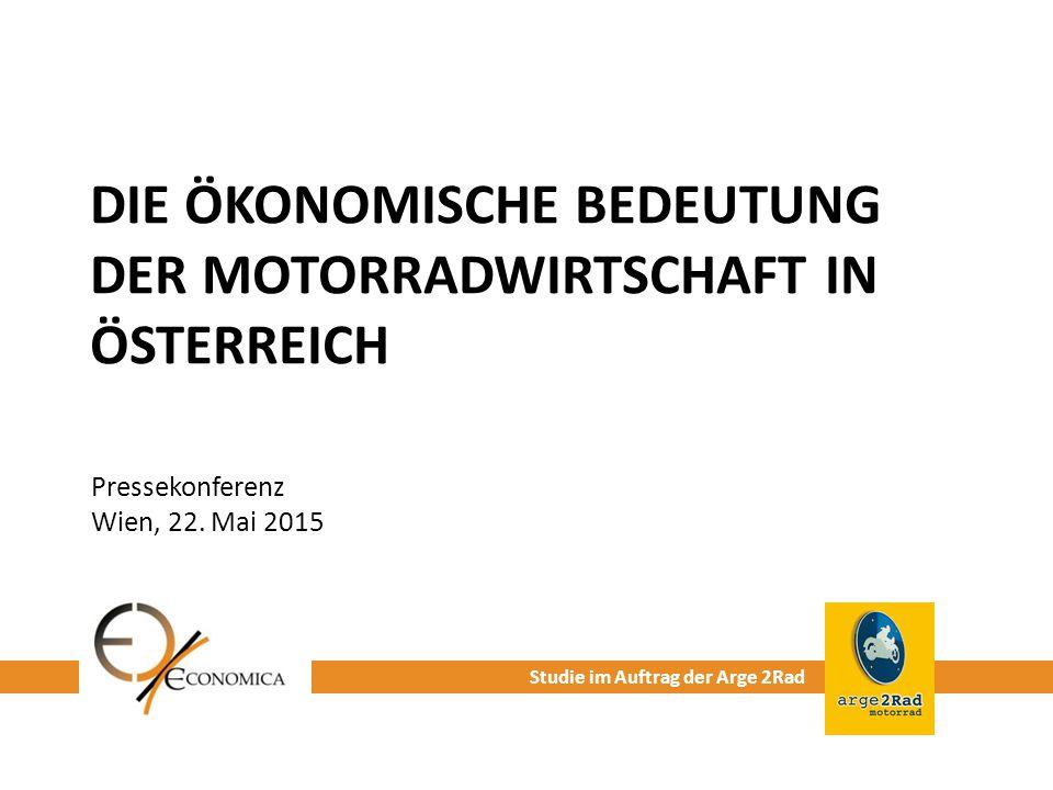 Die ökonomische Bedeutung der MotorradWirtschaft in Österreich