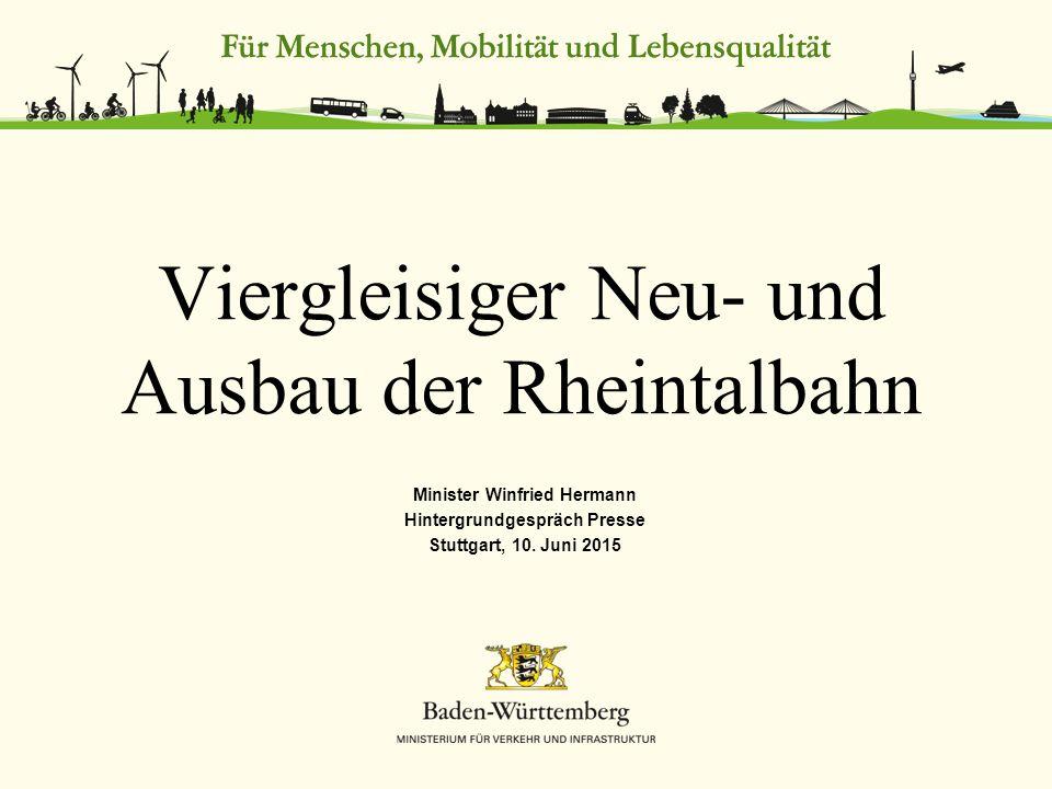 Minister Winfried Hermann Hintergrundgespräch Presse