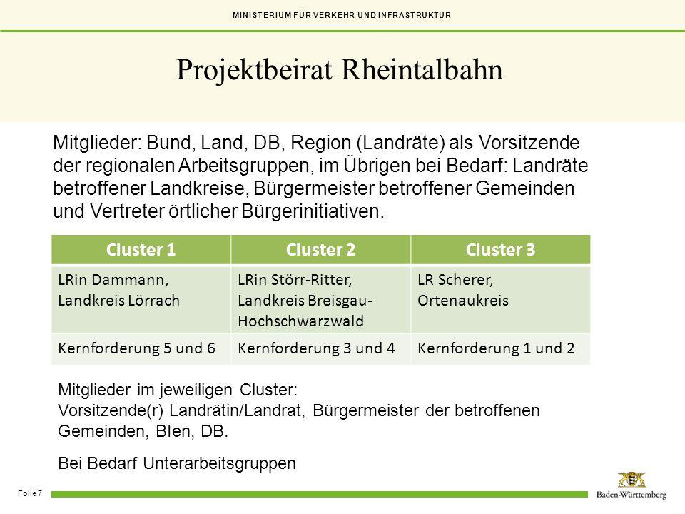 Projektbeirat Rheintalbahn