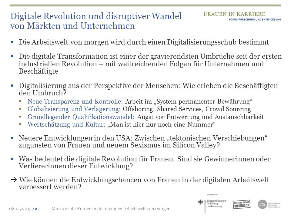 Digitale Revolution und disruptiver Wandel von Märkten und Unternehmen