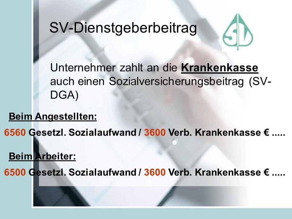SV-Dienstgeberbeitrag